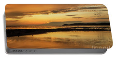 Sunset And Reflection Portable Battery Charger