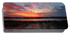 Sunset And Reflections 2 Portable Battery Charger