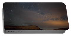 Sunset And Stars At White Pocket Portable Battery Charger by Anne Rodkin