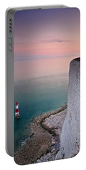 Sunset At Beachy Head Portable Battery Charger