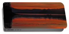 Sunset At Brothers Islands Portable Battery Charger