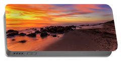 Sunset At Casperson Beach 2 Portable Battery Charger