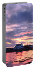 Sunset At Clachnaharry Portable Battery Charger