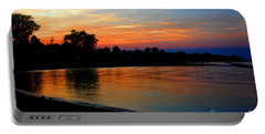 Sunset At Colonial Beach Cove Portable Battery Charger