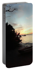 Sunset At Crystal Beach Portable Battery Charger