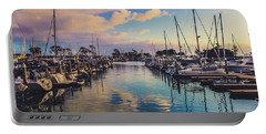 Sunset At Dana Point Harbor Portable Battery Charger