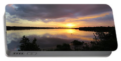 Sunset At Ding Darling Portable Battery Charger