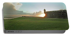 Sunset At El Morro Portable Battery Charger
