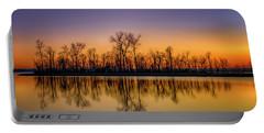 Sunset At Ellis Bay Riverlands Migratory Bird Sanctuary 7r2_dsc3959_12202017 Portable Battery Charger