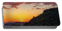 Sunset At Gate's Pass Portable Battery Charger