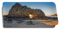 Sunset At Hole In The Rock Portable Battery Charger by James Hammond