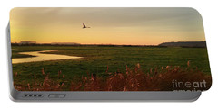 Sunset At Holkam Portable Battery Charger