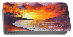 Sunset At Kapalua Bay Portable Battery Charger