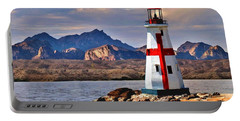 Sunset At Lake Havasu Portable Battery Charger