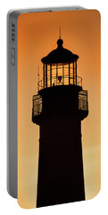 Sunset At Lighthouse Portable Battery Charger