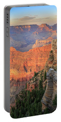 Sunset At Mather Point Portable Battery Charger