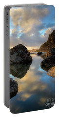Sunset At Moonstone Portable Battery Charger by Mark Alder