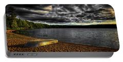 Sunset At Nicks Lake Portable Battery Charger by David Patterson