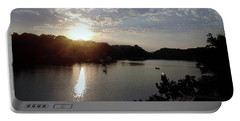 Sunset At Occoquan Portable Battery Charger