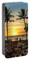 Sunset At Old Lahina Luau #2 Portable Battery Charger