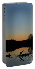 Sunset At Paulinskill Lake Portable Battery Charger