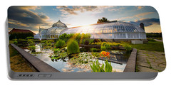 Sunset At Phipps Conservatory Portable Battery Charger