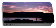 Sunset At Portavadie Scotland Portable Battery Charger