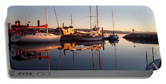 Sunset At Powell River Portable Battery Charger