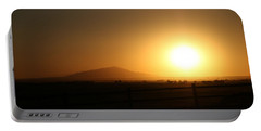 Sunset At Roswell New Mexico  Portable Battery Charger