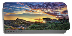 Sunset At Sage Ranch Portable Battery Charger