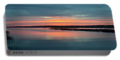 Sunset At Shelter Cove Portable Battery Charger by Carol Bradley