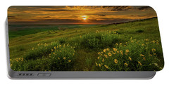 Sunset At Steptoe Butte Portable Battery Charger
