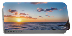 Sunset At Swami's Beach  Portable Battery Charger