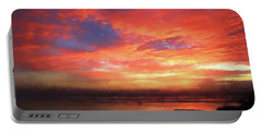 Sunset At The Beach Portable Battery Charger