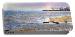 Sunset At The Beach - Tod's Point Portable Battery Charger