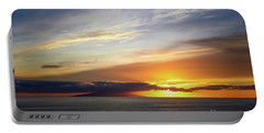Sunset At The Canary Island La Palma Portable Battery Charger