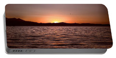 Sunset At The Lake 2 Portable Battery Charger