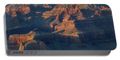 Sunset At The South Rim, Grand Canyon Portable Battery Charger