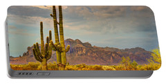 Sunset At The Superstitions  Portable Battery Charger