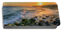 Sunset At The Wedge Portable Battery Charger