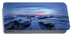 Sunset At Waddell Beach Portable Battery Charger