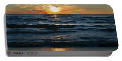 Sunset At Wasaga Beach June 21-2017  Portable Battery Charger