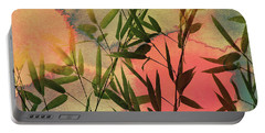 Sunset Bamboo Portable Battery Charger