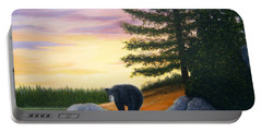 Sunset Bear Portable Battery Charger
