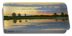 Sunset Ben Jack Pond Portable Battery Charger