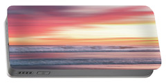 Sunset Blur - Pink Portable Battery Charger