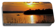 Sunset Boater, Smith Mountain Lake Portable Battery Charger