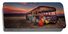 Sunset Bus Tour Portable Battery Charger