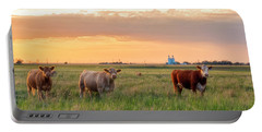 Sunset Cattle Portable Battery Charger
