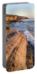 Portable Battery Charger featuring the photograph Sunset Cliffs, San Diego, California  -74706 by John Bald